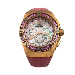 TW Steel Pink Mens Watch